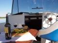 auf-dem-bord des hausbootes