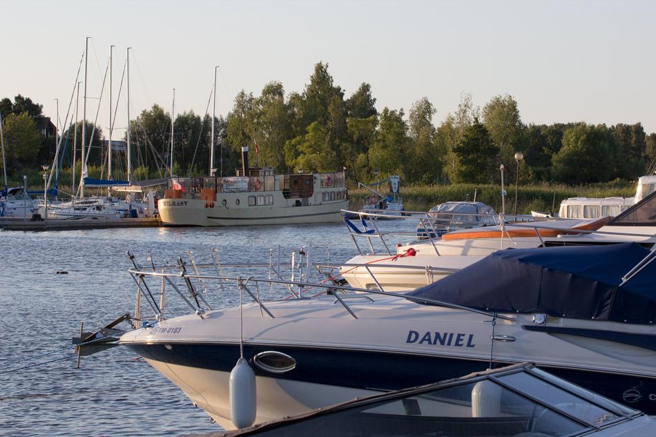 Hafen in Masuren in Wilkasy – hier starten Sie Ihre Hausbootferien in Polen!