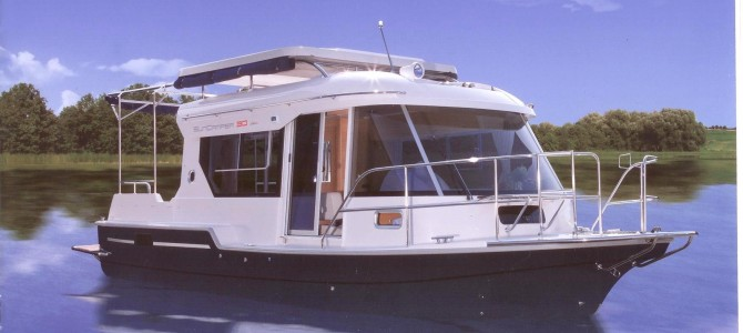 Hausboot Verkauf- Sunny Campio – Sun Camper -super Preis – zum Verkaufen!