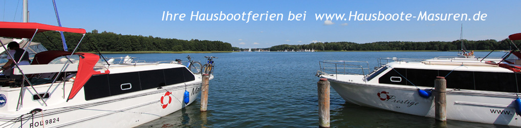Hausboot Masuren