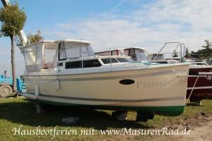 Hausboot-Polen
