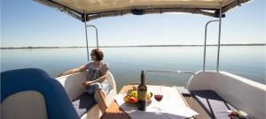 Hausboot Ferien in Masuren auf dem Boot Calipso 750 buchen!