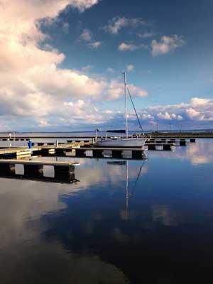 Hausbootferien in Masuren -Marina in Giżycko