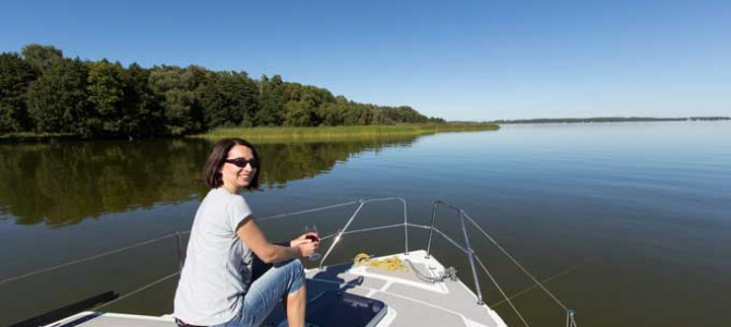 Hausboot Weekend 820 – neue Hausboote in der Saison 2015 in Polen in Masuren!