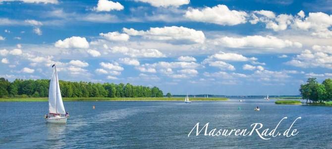 Masurische Seenplatte ideal für Hausbootferien!