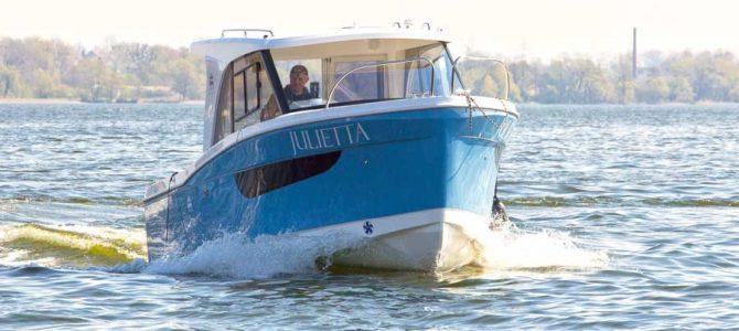 Neues Hausboot für 5 Personen bei uns direkt in Masuren!