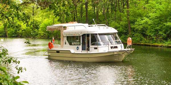 Sun Camper 30 auf dem Weichsel Werder Ring – neues Hausboot in unserem Angebot 2017!