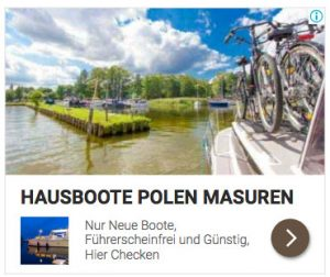 Hausbootferien in Polen in Masuren